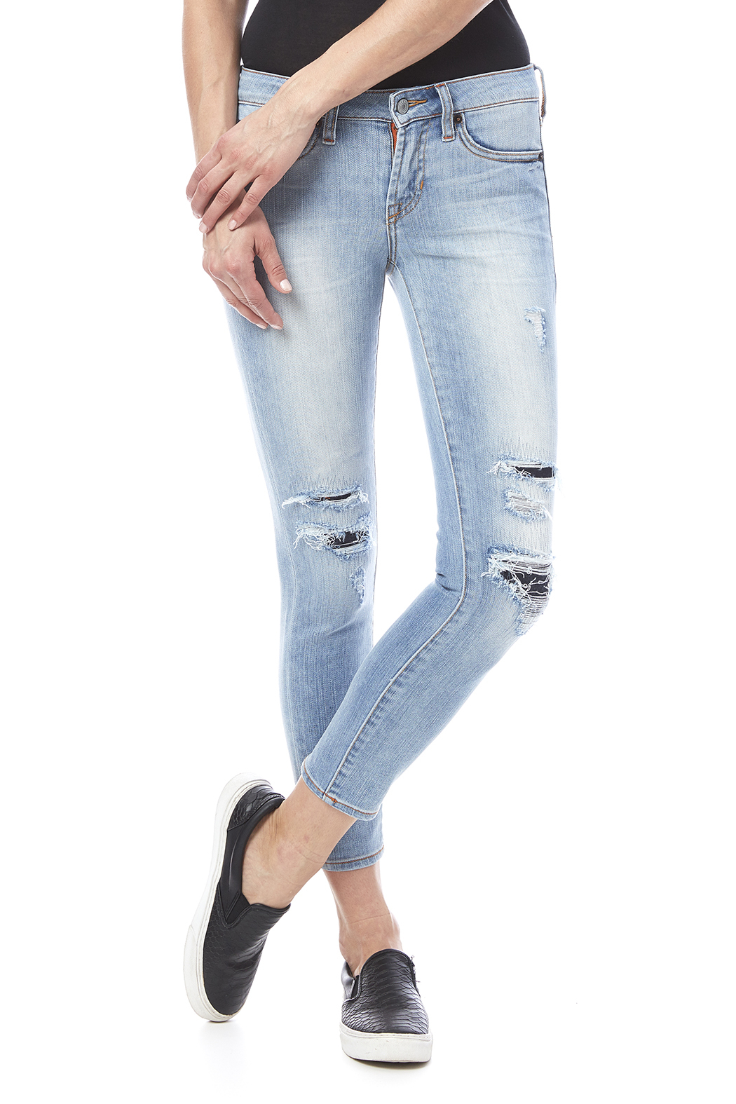 Jean Shop Patty Destroyed Jeans - Main Image