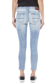 Jean Shop Patty Destroyed Jeans - Back cropped