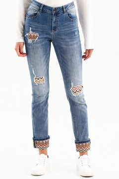 Charlie B. Jean With Crochet Detail - Product List Image
