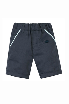 Shoptiques Product: Herringbone Navy Bermudas