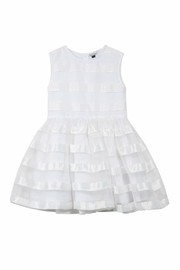 Jean Bourget Striped Ceremony Dress - Product Mini Image