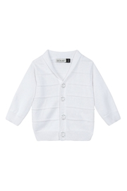Jean Bourget White Knitted Cardigan - Product Mini Image