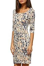 Jean Pierre Golden Matrix Dress - Product Mini Image