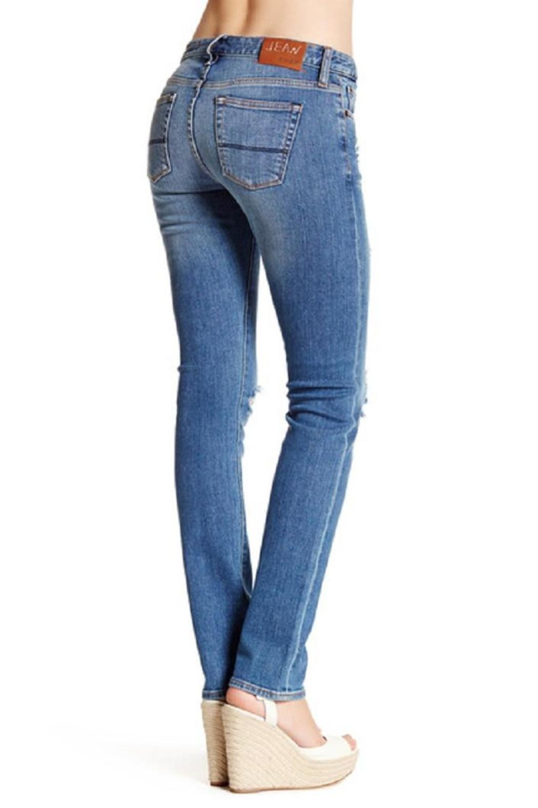 Jean Shop Straight Distressed Jean - Front Full Image
