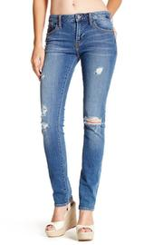 Jean Shop Straight Distressed Jean - Front cropped