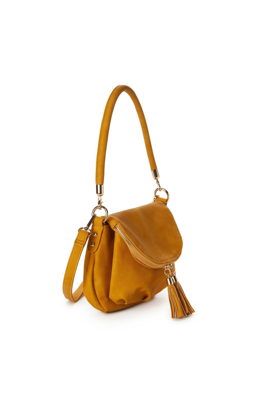 Jeane & Jax Brianna Zip-Flap Crossbody - Side Cropped Image