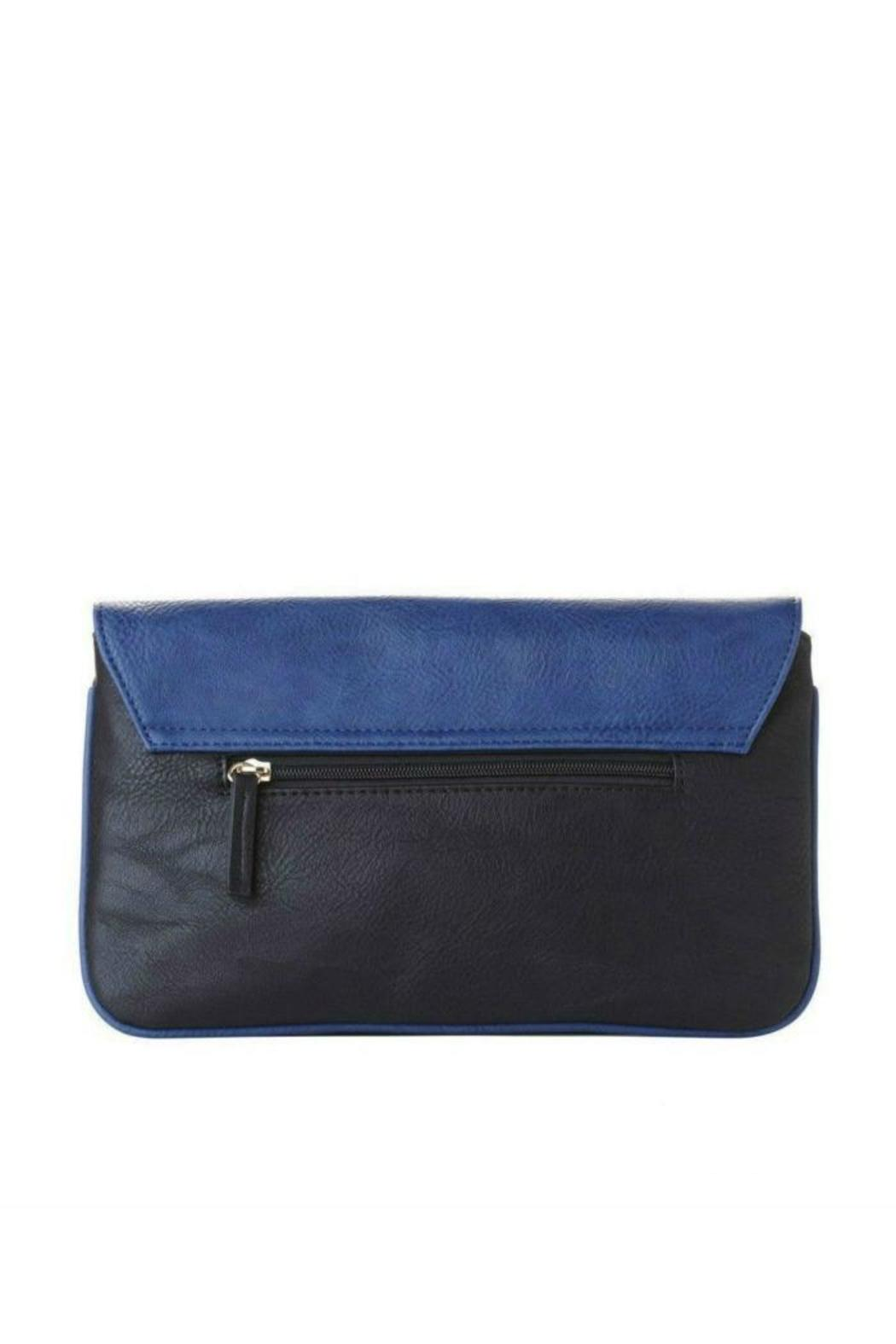 Jeane & Jax Color Blocked Clutch - Front Full Image
