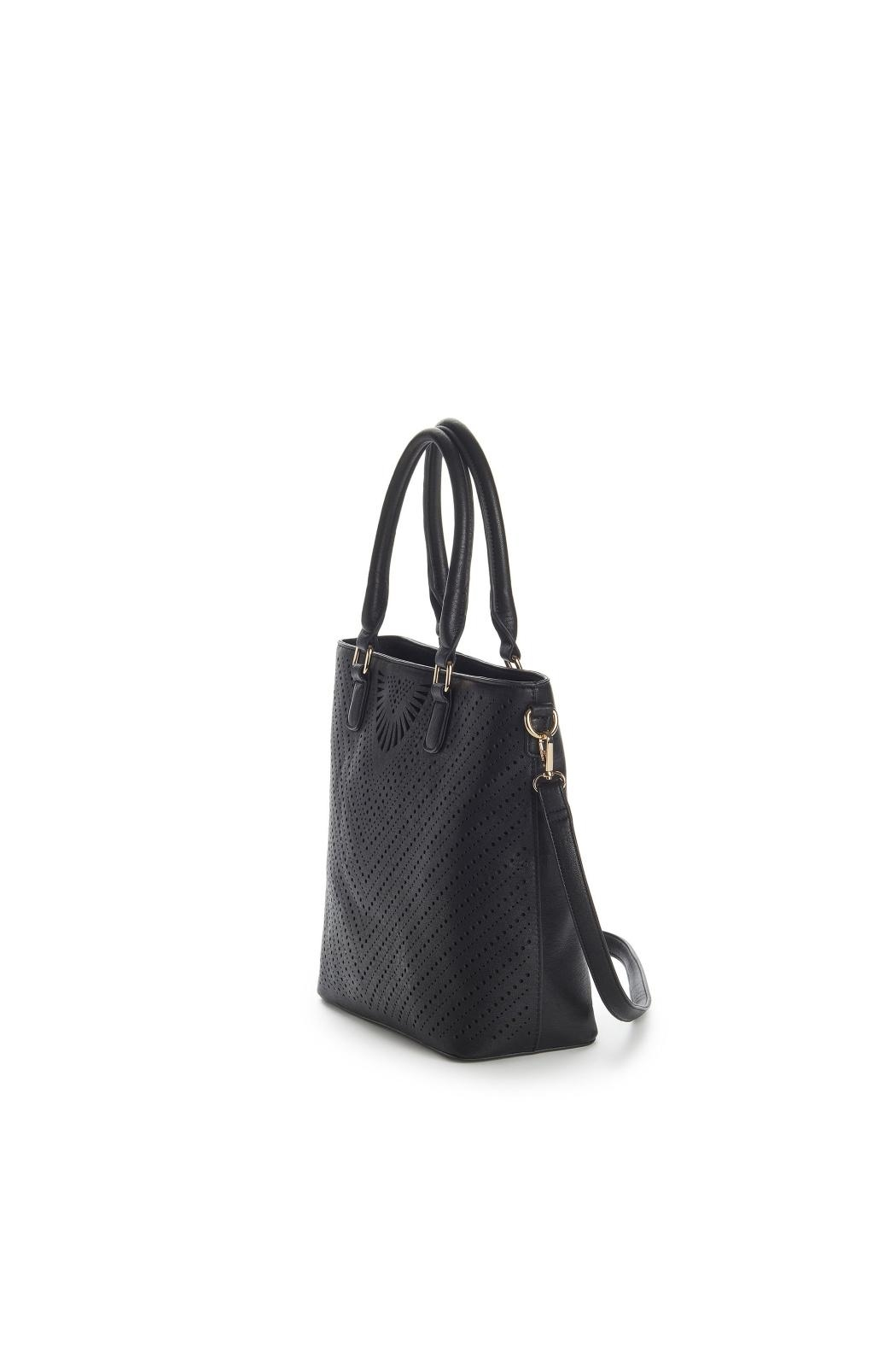 Jeane & Jax Stacy Perforated Tote - Side Cropped Image