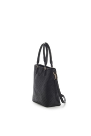 Jeane & Jax Stacy Perforated Tote - Side cropped