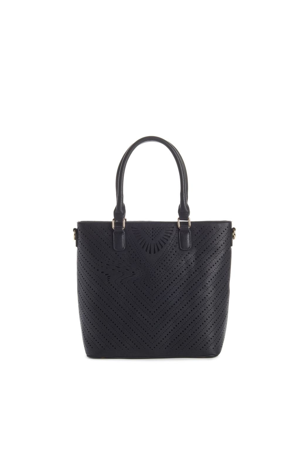 Jeane & Jax Stacy Perforated Tote - Main Image