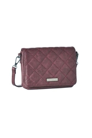 Jeane & Jax Vegan Quilted Mini Crossbody Purse - Front cropped