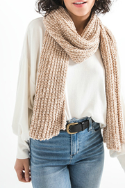 rag poets Jeanie Chenille Scarf - Product Mini Image