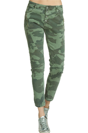Elan JEANS CAMO W/ ZIPPER PKT DETAIL - Product Mini Image