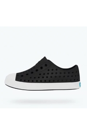Native Youth Kids Jefferson Black/bone Slip-On - Product Mini Image
