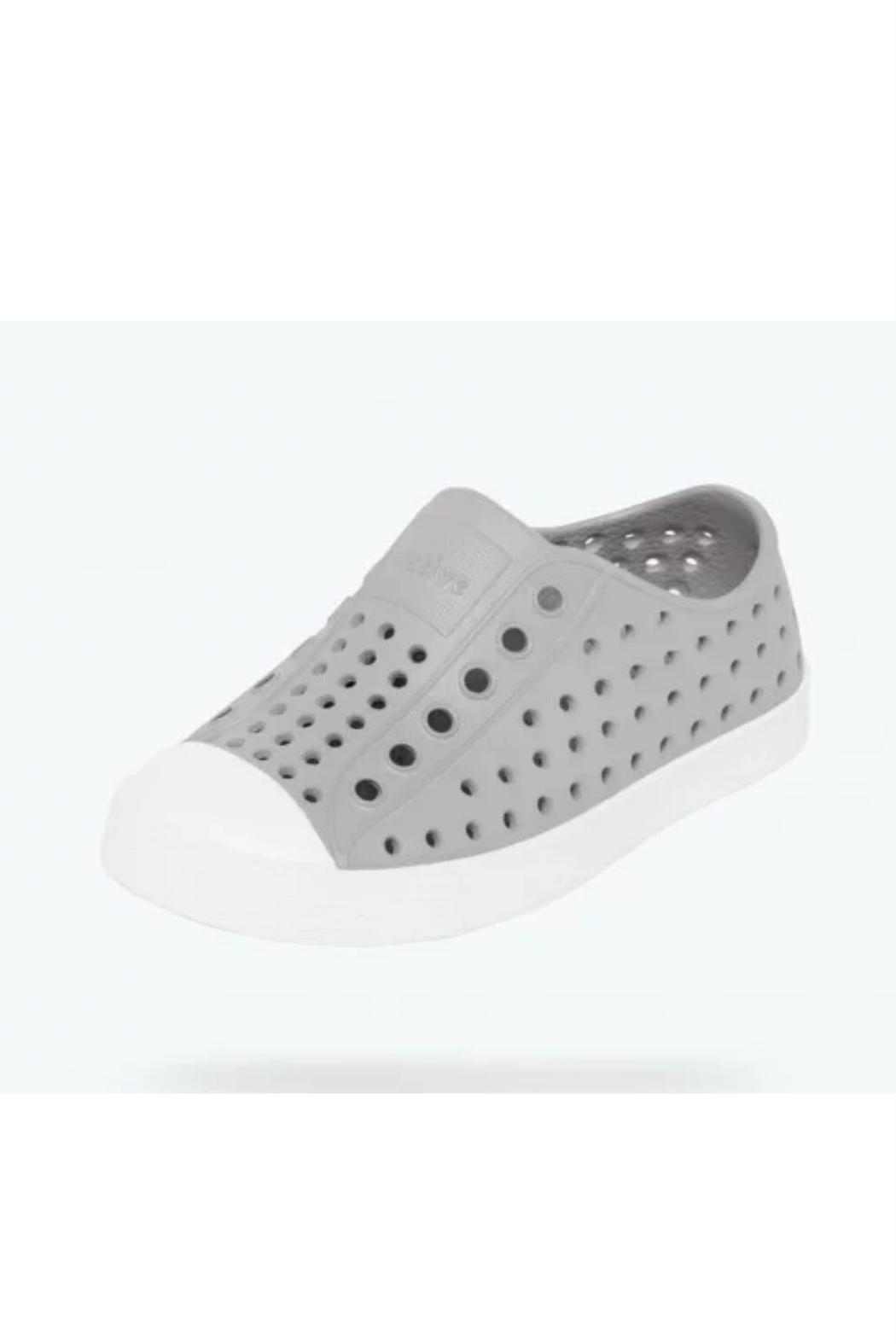 Native Shoes Jefferson Grey Slip-On - Front Full Image