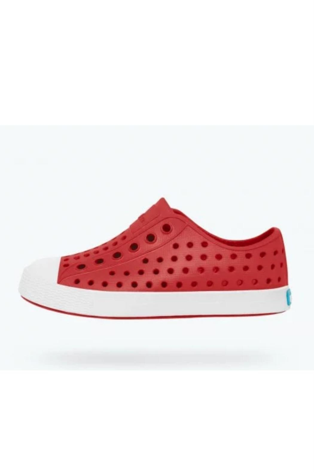 Native Shoes Kids Red Jefferson - Front Cropped Image
