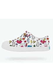 Native Youth Jefferson Stickerbook Slip-On - Front cropped