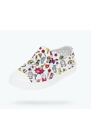 Native Youth Jefferson Stickerbook Slip-On - Front full body