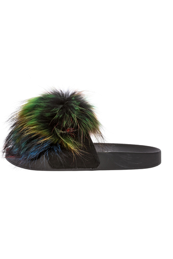 Jeffrey Campbell Pom Pom Flip Flops From Cleveland By Grey