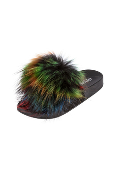 Jeffrey Campbell Pom Pom Flip Flops - Alternate List Image