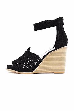 Shoptiques Product: Black Cut Out Wedge