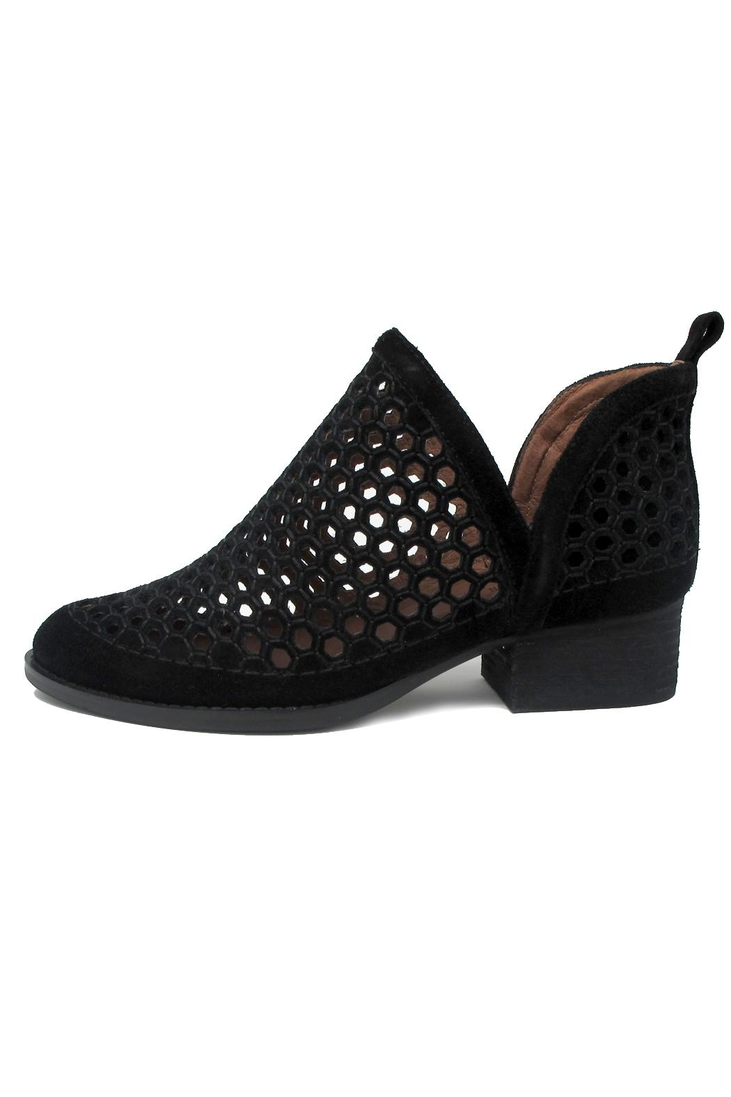 Jeffrey Campbell Black Bolton Bootie - Main Image