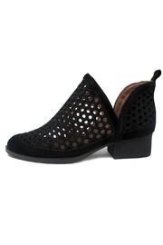 Jeffrey Campbell Black Bolton Bootie - Product Mini Image