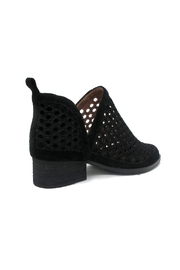 Jeffrey Campbell Black Bolton Bootie - Front full body