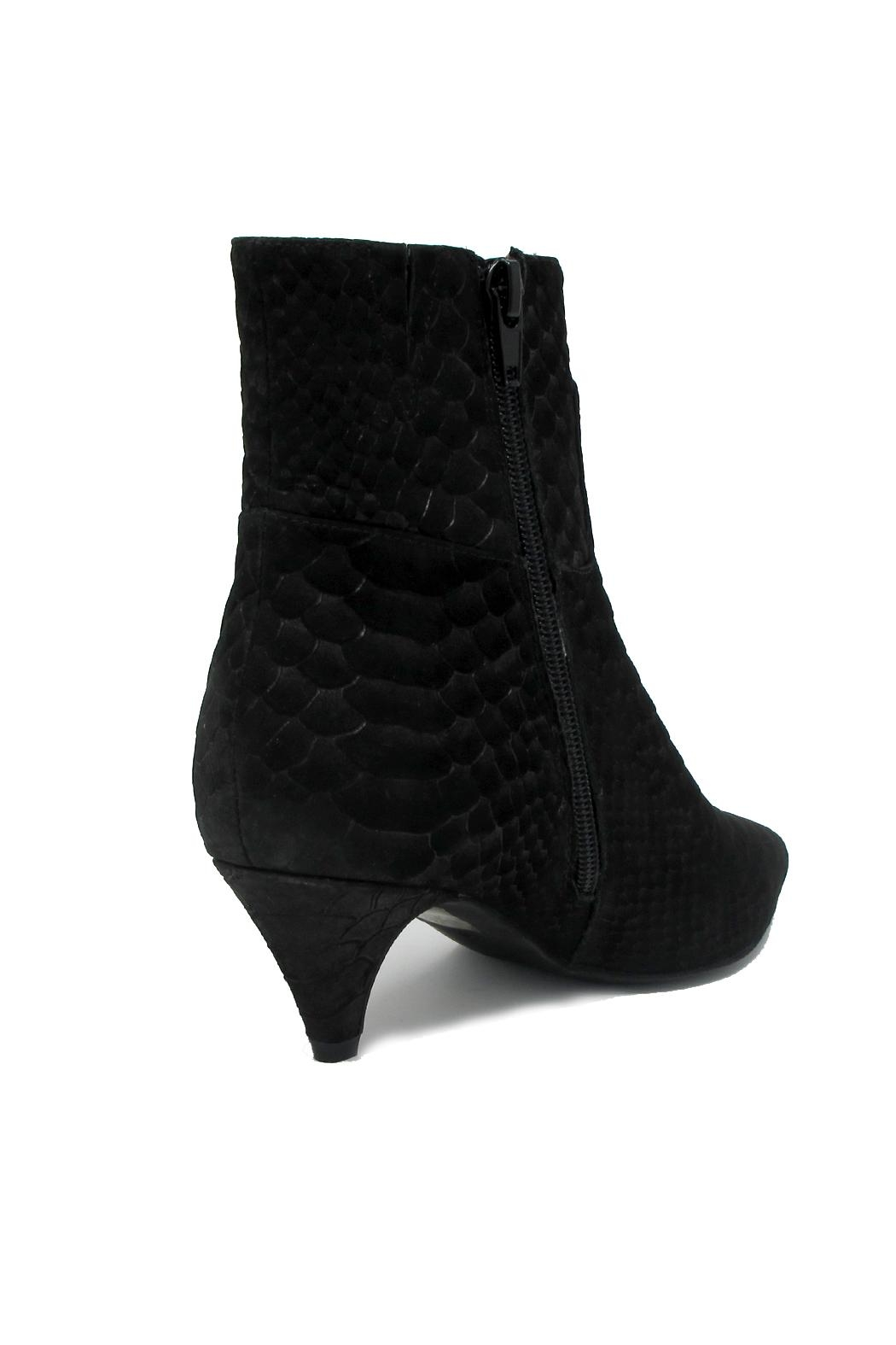 Jeffrey Campbell Black Snake Bootie - Front Full Image