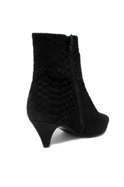 Jeffrey Campbell Black Snake Bootie - Front full body