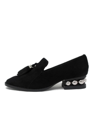 Jeffrey Campbell Black Suede Loafer - Product Mini Image