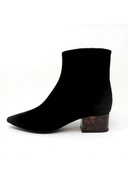 Jeffrey Campbell Black Tortoise Bootie - Product Mini Image