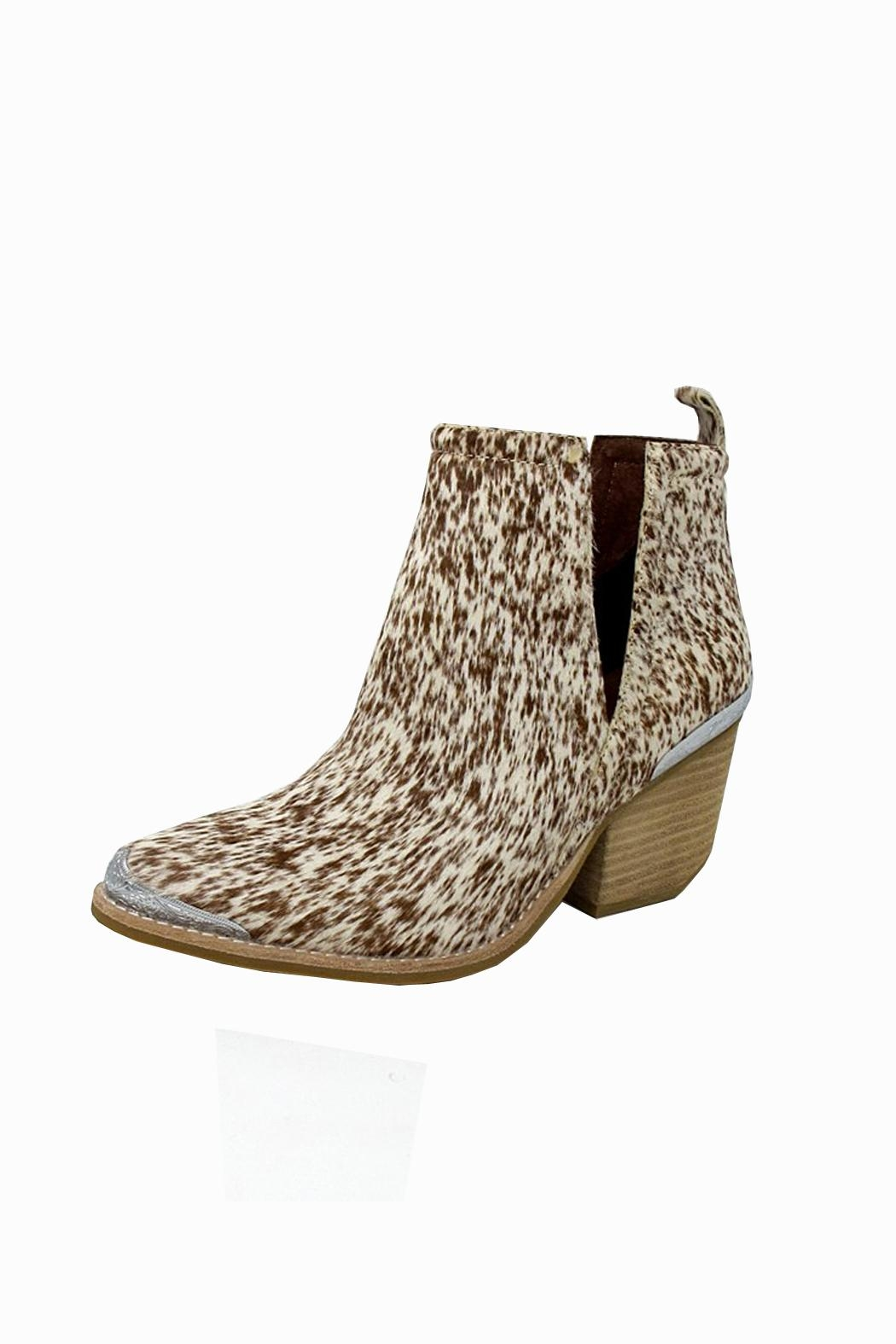 Jeffrey Campbell Calf Hair Bootie - Main Image