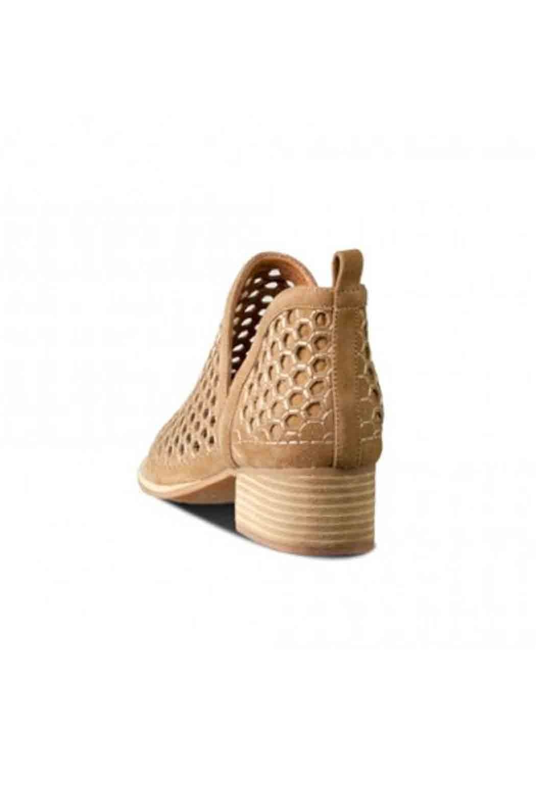 Jeffrey Campbell Camel Suede Bootie - Side Cropped Image