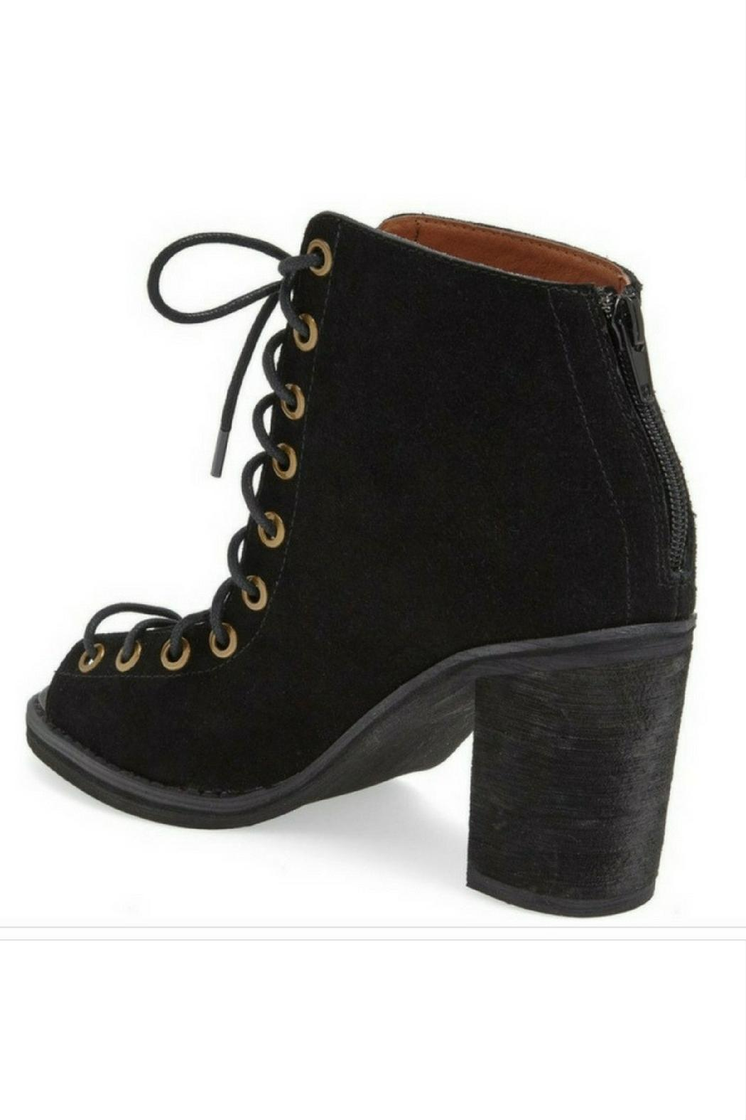 2eefc8710 Jeffrey Campbell Cors Lace Up Heels from Orlando by Tuni Trendy ...