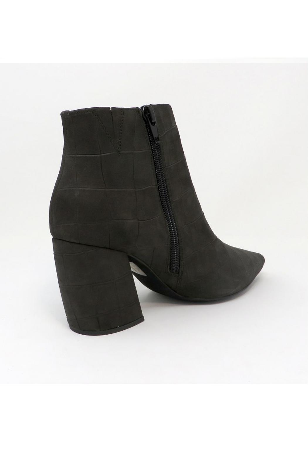 Jeffrey Campbell Grey Final Bootie - Front Full Image