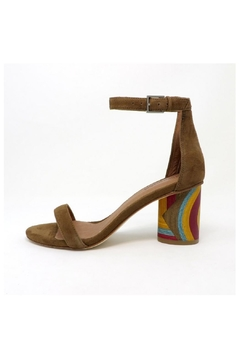 Jeffrey Campbell Purdy Brown Heel - Product List Image