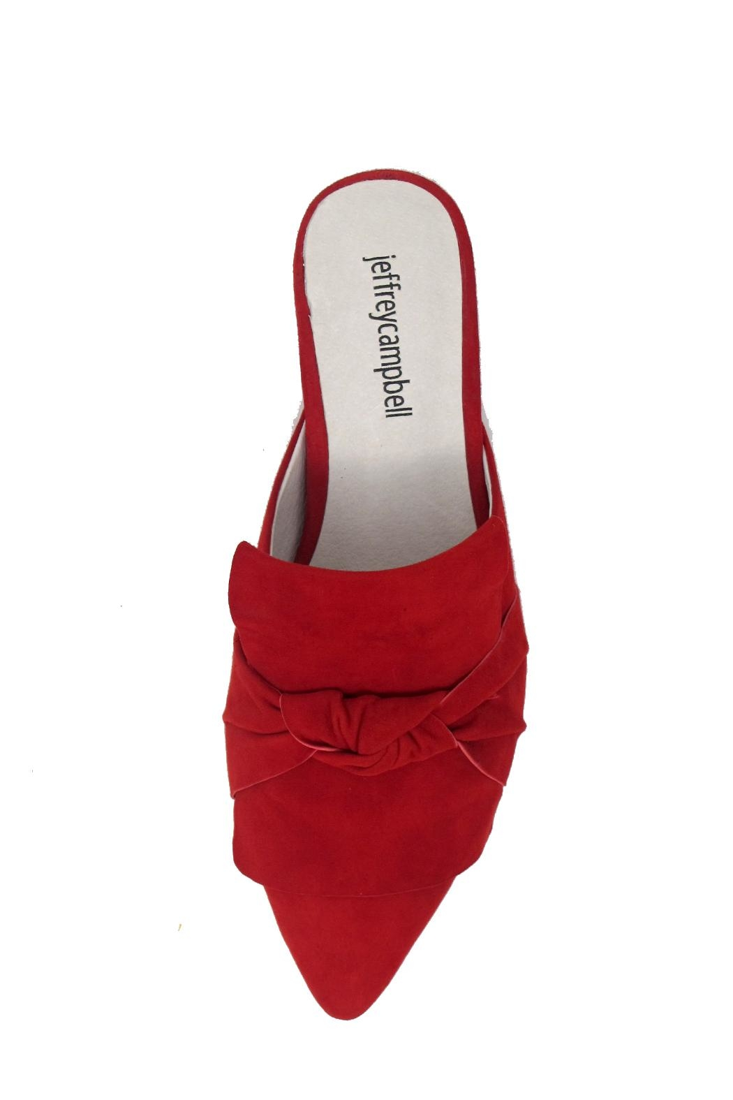 Jeffrey Campbell Dello Red Mule - Side Cropped Image