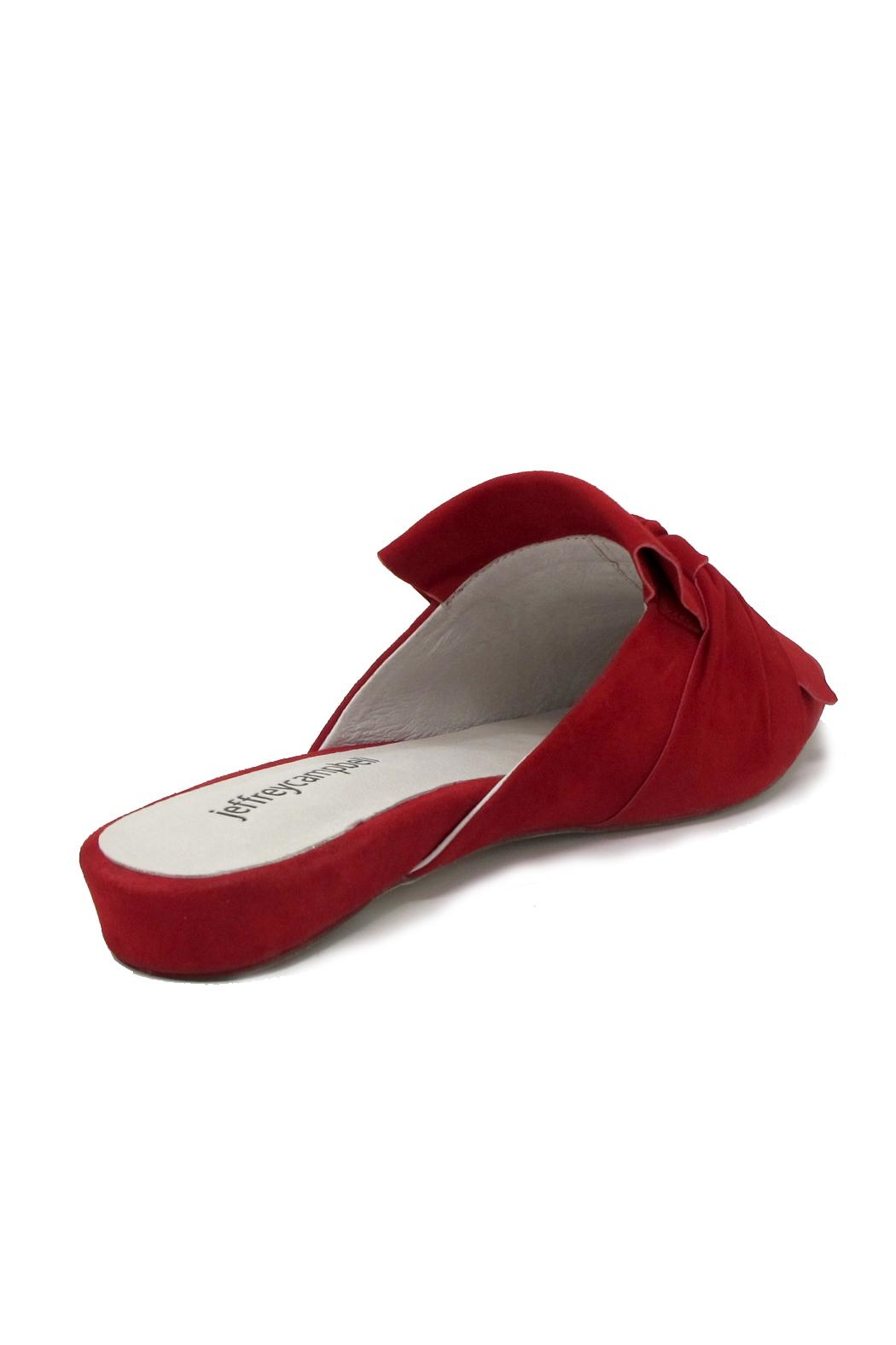Jeffrey Campbell Dello Red Mule - Front Full Image