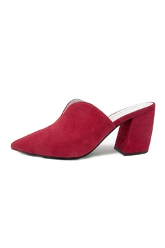 Jeffrey Campbell Red Slide Mule - Product List Image