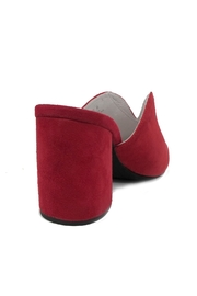 Jeffrey Campbell Red Slide Mule - Front full body