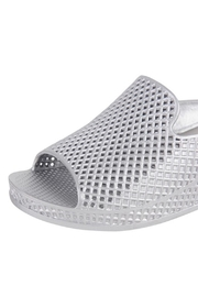 Jeffrey Campbell Silver Slip On Wedge - Side cropped