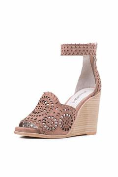 Jeffrey Campbell Taupe Cut Out Wedge - Product List Image