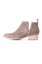 Jeffrey Campbell Taupe Perforated Bootie - Product Mini Image