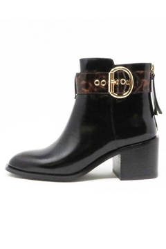 Jeffrey Campbell Tortoise Black Booties - Product List Image