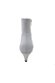Jeffrey Campbell White Patent Boot - Side cropped
