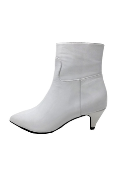 Jeffrey Campbell White Patent Boot - Product List Image