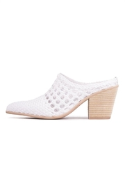 Jeffrey Campbell White Woven Mule - Product Mini Image
