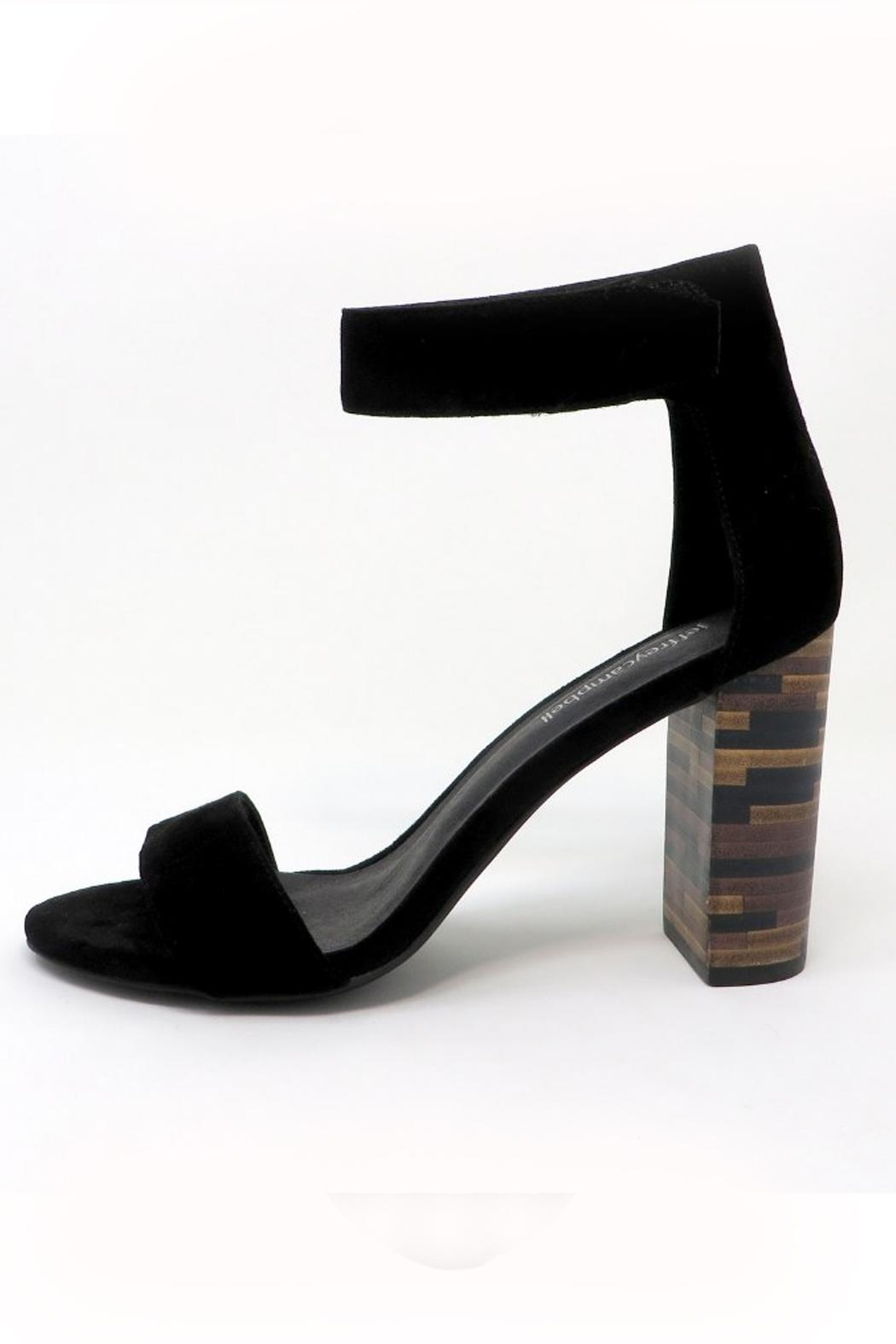 Jeffrey Campbell Wooden Heel Pump - Front Cropped Image