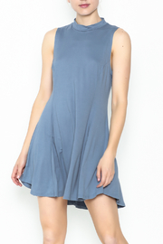 jella c Open Back Skater Dress - Front cropped